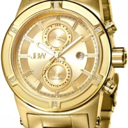 JBW Gold Stainless Gold dial Watch for Men's J6263E