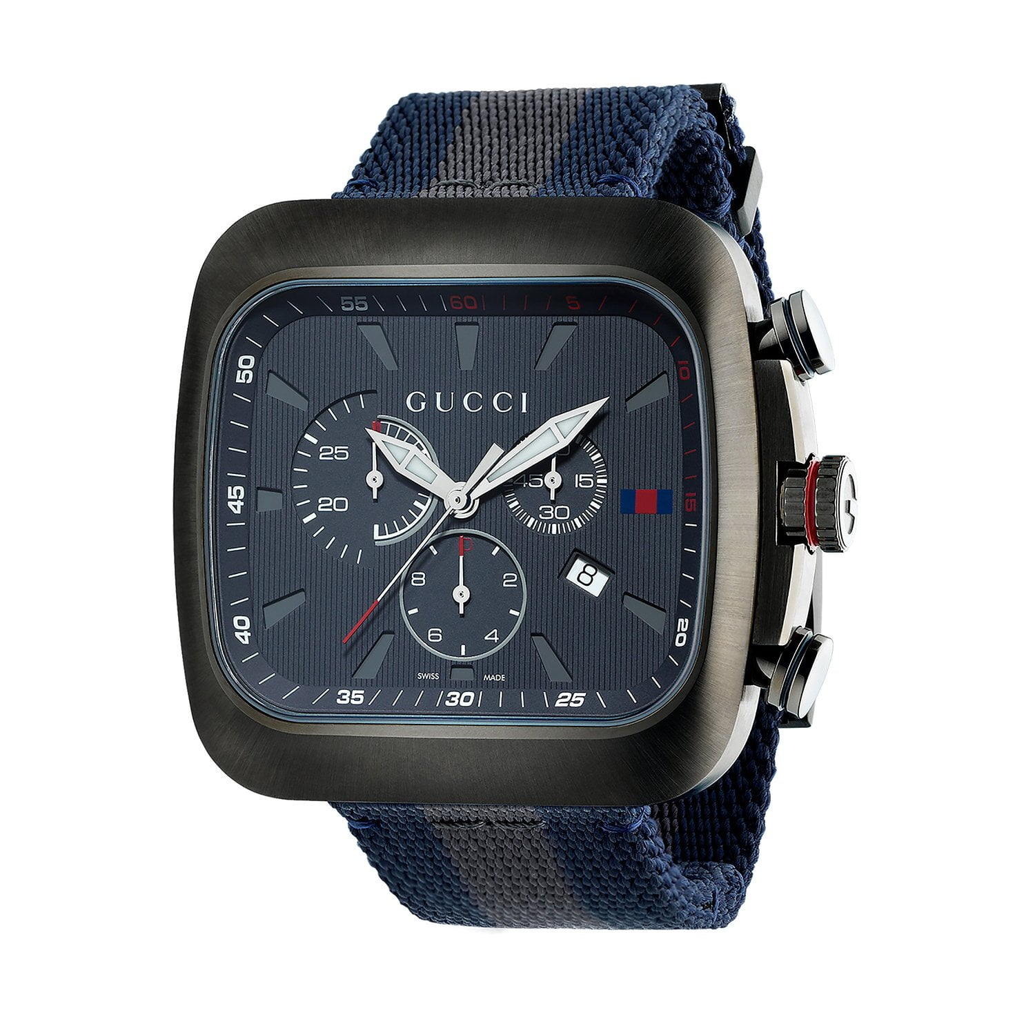 Gucci Blue Fabric Blue dial Watch for Men's YA131203