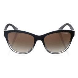 VOGUE VO2993S-18808E-57 TOP BLACK GRADIENT GRAY TRANSPARENT CATEYE