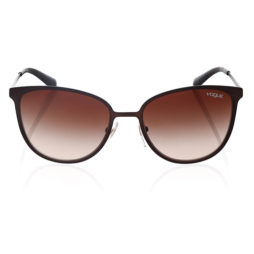 VOGUE VO4002S-934S13-55 MATTE BROWN BURNT SQUARE