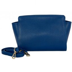 Joana & Poala Blue Leather Shoulder 2022/C25