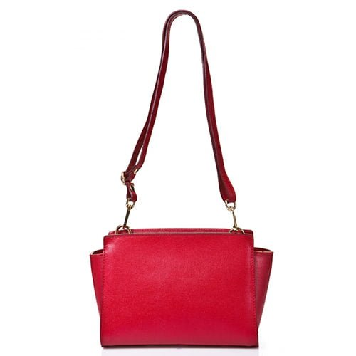 Joana & Poala Red Leather Shoulder 1008/C6