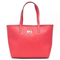 Michael Kors Coral Leather Tote  35S3GTVT2T