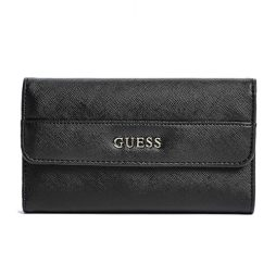 Guess Black Leather Wallet 15GF-326-BLACK