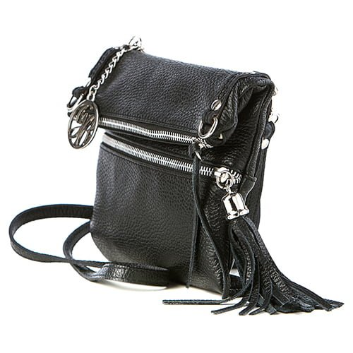 Guido Banini Black Leather Shoulder WB20005_BLACK