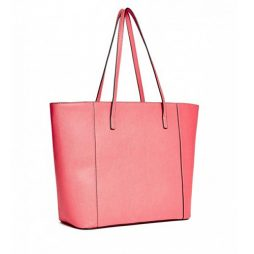 Guess Coral Leather Tote VY625526-CORAL