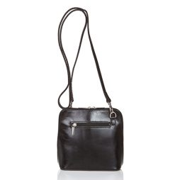 Giorgio Costa Black Leather Shoulder 8016 BLACK
