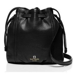 Kate Spade Black Leather Satchels WKRU3466