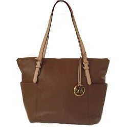 Michael Kors Brown Leather Tote  35T2GTTT8L