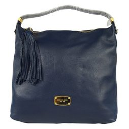 Michael Kors Navy Leather Shoulder 35S5GBFL3L-NAVY