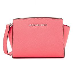 Michael Kors Coral Leather Cross Body 32H3SLMC1L