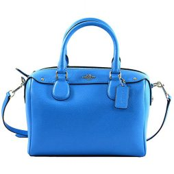 Coach Blue Leather Satchels F36624-SVAZ
