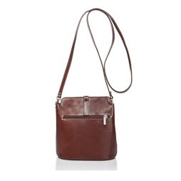 Massimo Castelli Brown Leather Shoulder 8358 BROWN