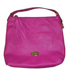 Michael Kors Pink Leather Hobo 35S5GBFL3L-FUSCHIA