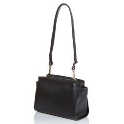 Joana & Poala Black Leather Shoulder 2022/C1