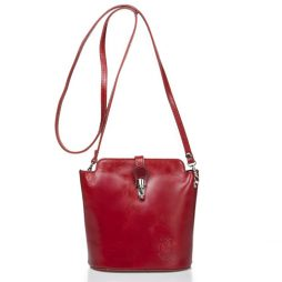 Massimo Castelli Red Leather Shoulder 8358 RED