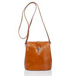 Massimo Castelli No Leather Shoulder 8358 COGNAC