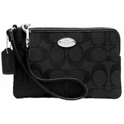 Coach Black Leather Clutch F64375-SBKBK