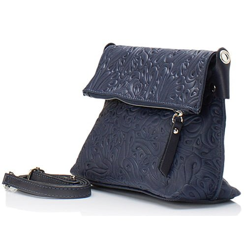 Giorgio Costa Blue Leather Shoulder 5005 BLUE