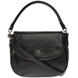 Kate Spade Black Leather Satchels WKRU3851