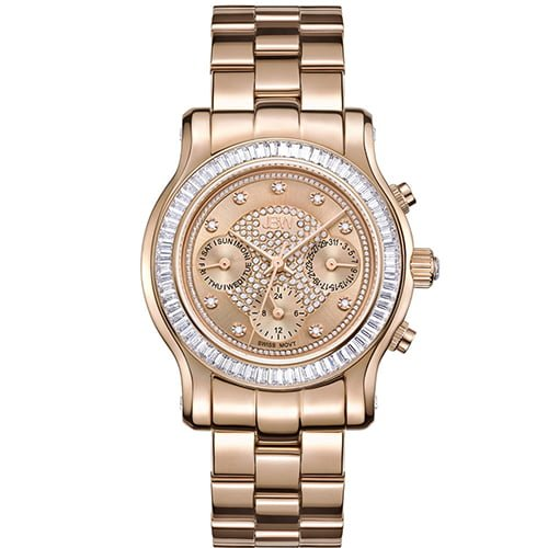 JBW Rose Gold Stainless Rose Gold dial Watch for Women's J6330C
