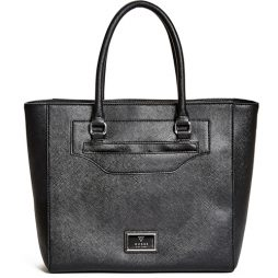 Guess Black Leather Tote LE623822-BLACK