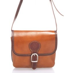 Liza Minardi No Leather Shoulder 8012 COGNAC