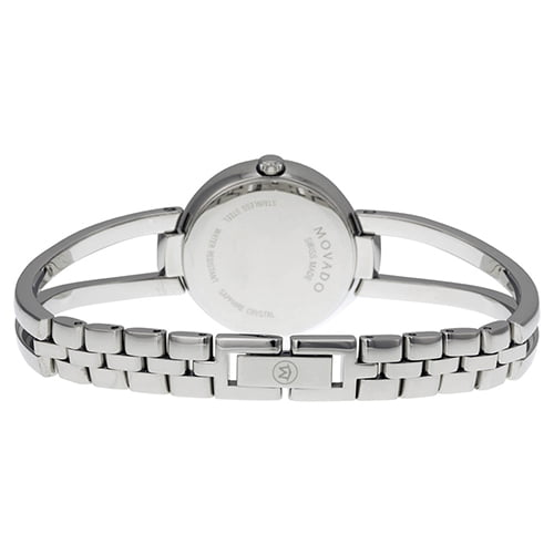 Movado Silver Stainless Silver dial Watch for Women's 0606813