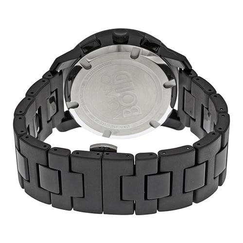 Movado Black Resin Black dial Watch for Men's 3600048