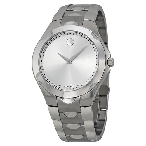 Movado Silver Stainless Silver dial Watch for Men's 0606379