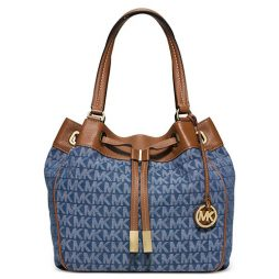 Michael Kors Blue No Tote  30S6GMAT3V
