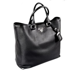 Prada Black Leather Hobo BN2876