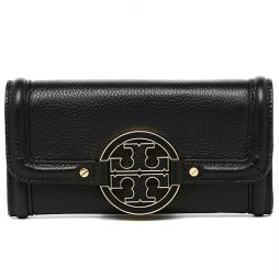 Tory Burch Black Leather Wallet 18159249