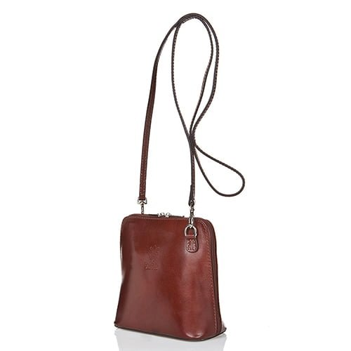 Giorgio Costa Brown Leather Shoulder 8016 D BROWN