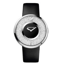 Swarovski No Leather Black dial Watch for Women's 1135988