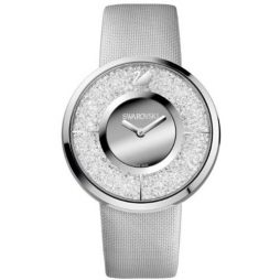 Swarovski Gray Nylon Silver dial Watch for Women's 1135990