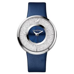 Swarovski Blue Leather Blue dial Watch for Men's 1184026