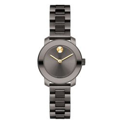 Movado Gray Stainless Gray dial Watch for Women's 3600326