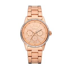 Colori Rose Gold Stainless Rose Gold dial Watch for FOR HER 5-COL377