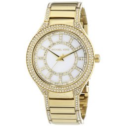 Michael Kors Gold Stainless White dial Watch for Women's MK3312