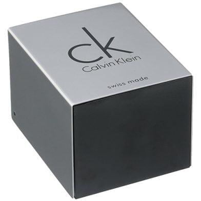 Calvin Klein Black Leather Black dial Watch for Women's K3B231C1