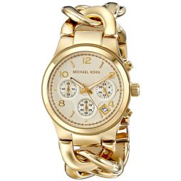 Michael Kors Gold Stainless Gold dial Watch for Women's MK3131