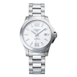 Longines Silver Stainless Silver dial Watch for Men's L36764766