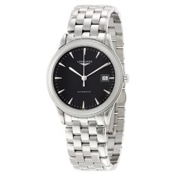 Longines Silver Stainless Black dial Watch for Men's L48744526