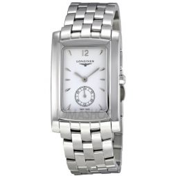 Longines Silver Stainless White dial Watch for Men's L56554166