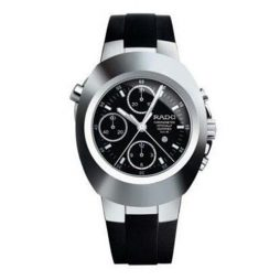 Rado Black Rubber Black dial Watch for Men's R12694159
