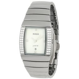 Rado Silver Ceramic White dial Watch for Women's R13577902