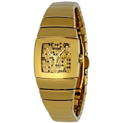 Rado Gold Ceramic Gold dial Watch for Women's R13776252