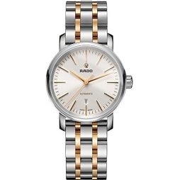 Rado Two Tone Stainless White dial Watch for Men's R14050103