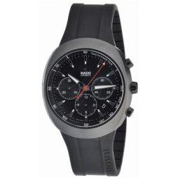 Rado Black Rubber Black dial Watch for Men's R15378159